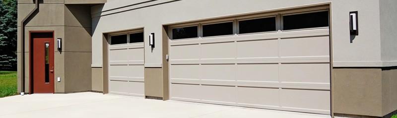 Recessed Panel Garage Door by CHI